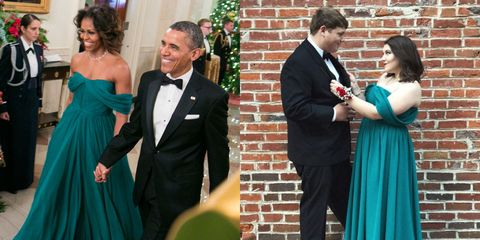 Photograph, Dress, Formal wear, Green, Event, Gown, Suit, Turquoise, Tuxedo, Tradition,