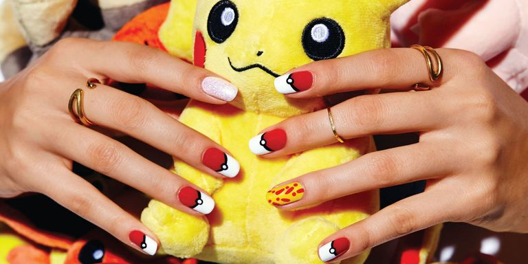 Summer's the perf time to experiment with fun nail art! Have the best mani  at the beach, pool, or BBQ with these super easy designs. - 7 Cute Summer Nail Designs For 2017 - Easy DIY Summer Manicures