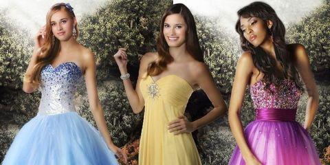 Clothing, Hair, Dress, Eye, Hairstyle, Strapless dress, Shoulder, Waist, Formal wear, Beauty,