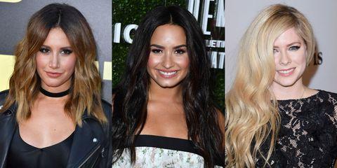 Hair, Face, Hairstyle, Eyebrow, Blond, Hair coloring, Chin, Nose, Long hair, Lip,