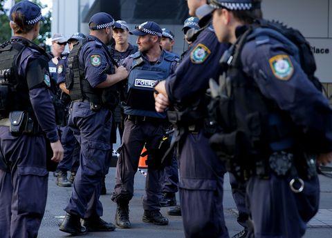 Police officers in Sydney, Australia