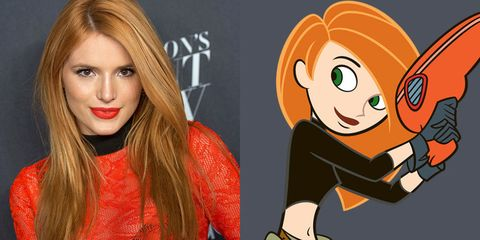 Cartoon, Animated cartoon, Lip, Orange, Blond, Brown hair, Fictional character, Animation, Style, Illustration,