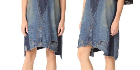 Denim, Clothing, Jeans, Plaid, Dress, Pattern, Pocket, Textile, Design, Footwear,