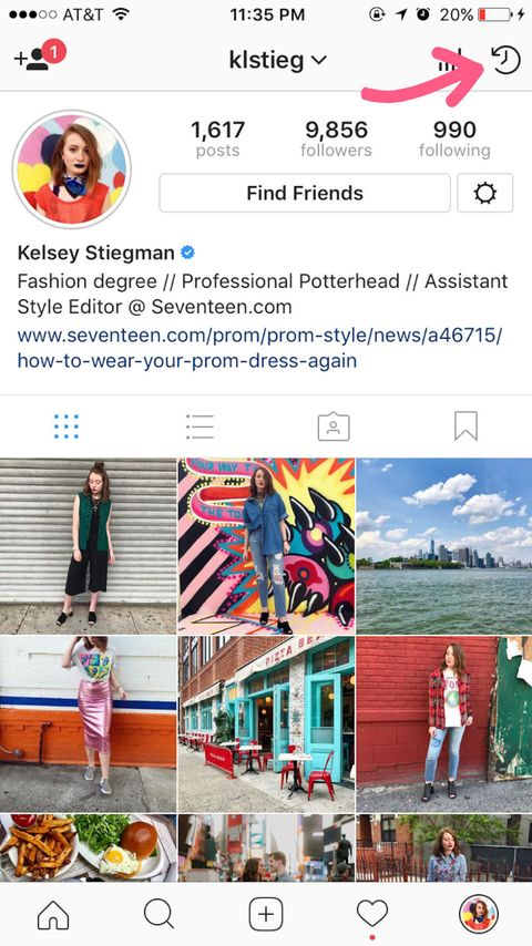 How to use instagram archive and story highlights how to save advertisement continue reading below ccuart Choice Image