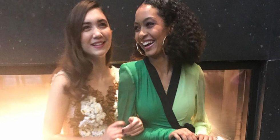 Black Ish Star Yara Shahidi Brought Her Bff Rowan