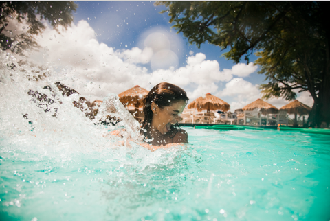 Water, Swimming pool, Fun, Leisure, Recreation, Summer, Sky, Swimming, Wave, Water park,