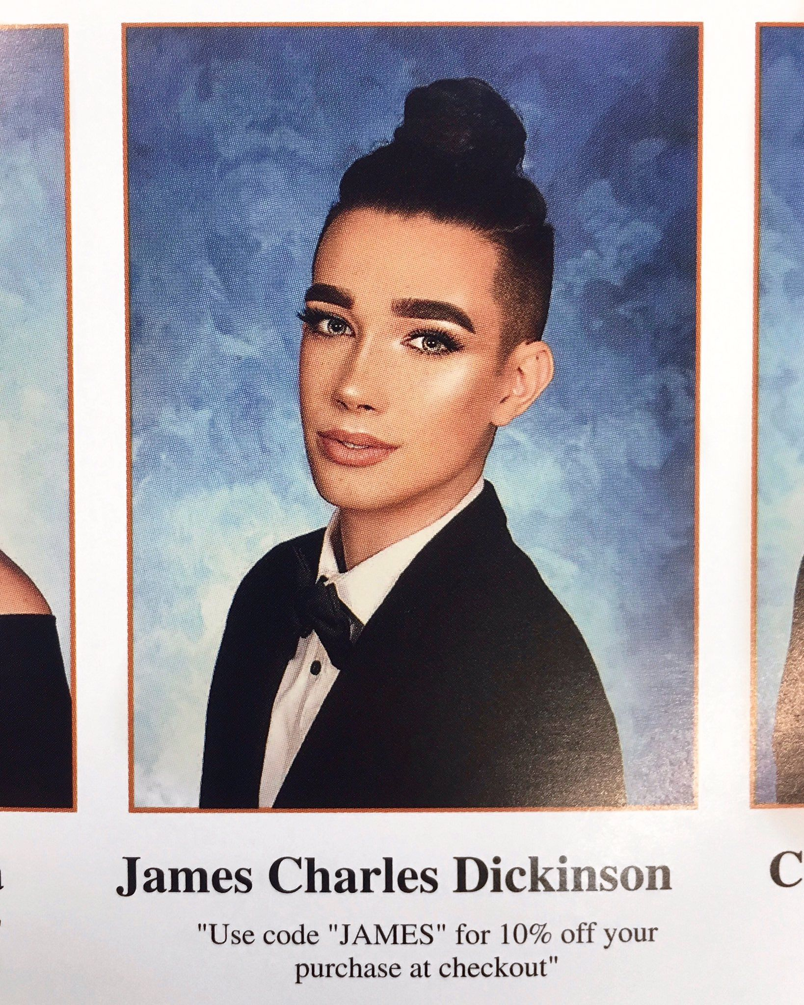 Senior Yearbook Quotes James Charles Senior Yearbook Quote Photos