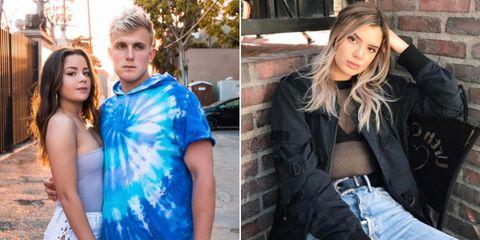 Beauty, Jeans, Cobalt blue, Blond, Electric blue, Denim, Model, Long hair, Photography, Brown hair,