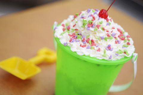 Food, Cream, Cuisine, Milkshake, Whipped cream, Dessert, Drink, Non-alcoholic beverage, Sweetness, Dish,