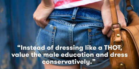 High School Boys Told Girls That Breaking The Dress Code Is