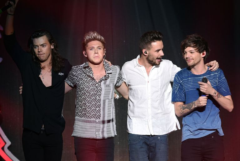 Two members of one direction just reunited to release an emotional getty images thecheapjerseys Image collections