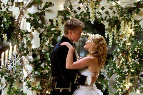 Photograph, Romance, Ceremony, Wedding, Wedding dress, Love, Interaction, Event, Bride, Dress,