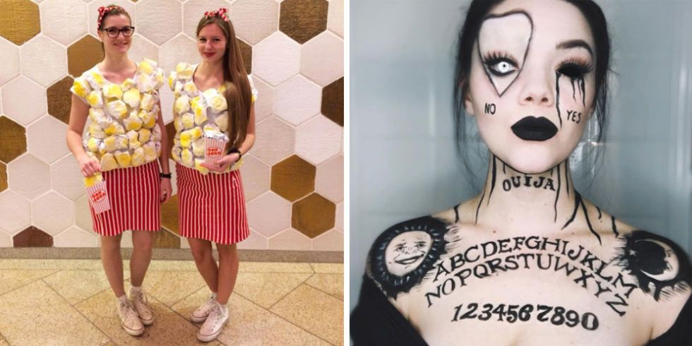 Nice DIY Halloween Costumes For Girls