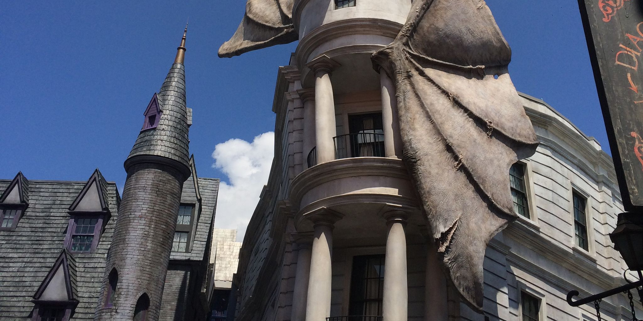 Diagon Alley Wizarding World of Harry Potter Universal Studios ...