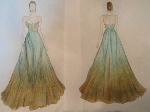 Sketch Your Prom Dress Contest With Davids Bridal And Seventeen