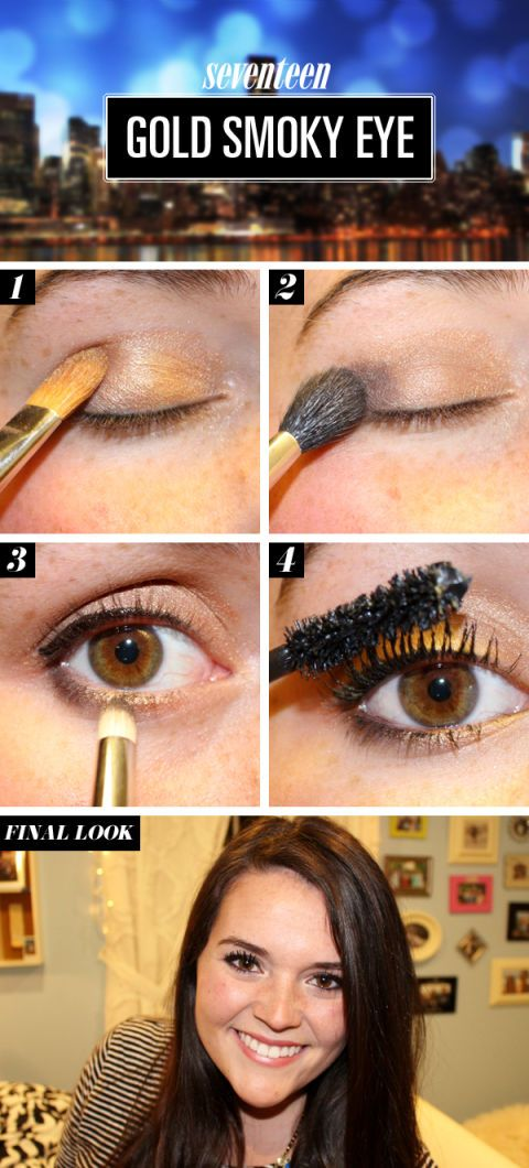 Girls Night Out Makeup Tutorial Simple Makeup How To For Night Out