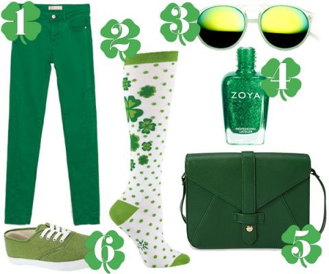 6fb3624f 6 Cutest Ways To Wear Green On St. Patrick's Day—Without Looking Like A  Leprechaun