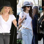 Clothing, Arm, Hat, Trousers, Denim, Shirt, Textile, Jeans, Outerwear, White,
