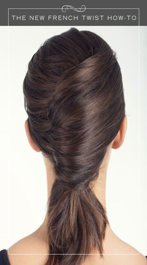 How To Create The New French Twist Hairstyle French Twist Updo