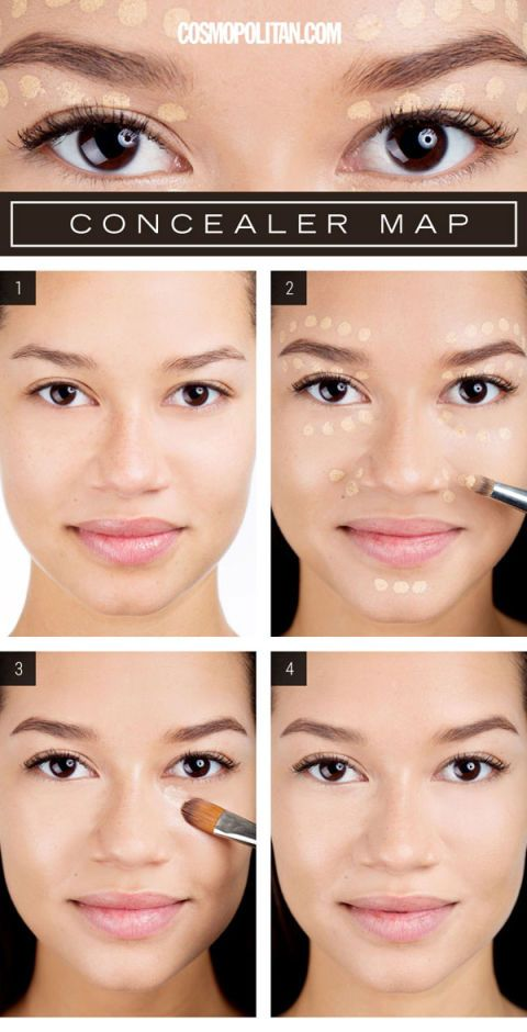 How To Apply Concealer Perfectly