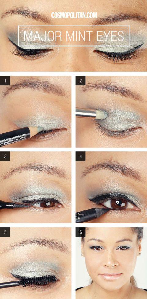 Miley Cyrus Mint Smoky Eye Makeup How To Mint Smoky Eye Makeup