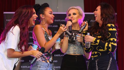 Little Mix Laughing On Stage