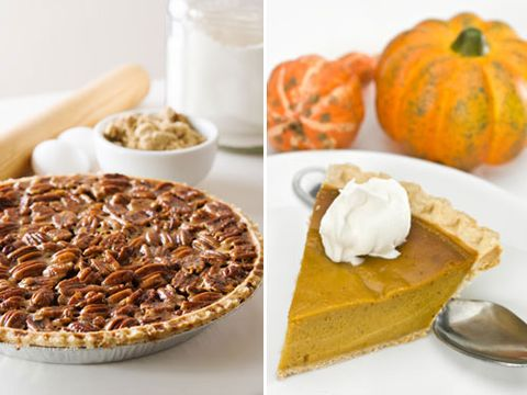 Pecan Pie Vs. Pumpkin Pie