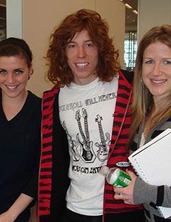 Shaun White Interview Celebrity Question And Answer With