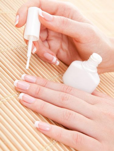 French manicure tips diy french manicure dont be scared to give yourself this classic mani its actually really easy to do follow these tips to learn how solutioingenieria Choice Image