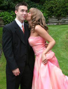 Match prom date's dress