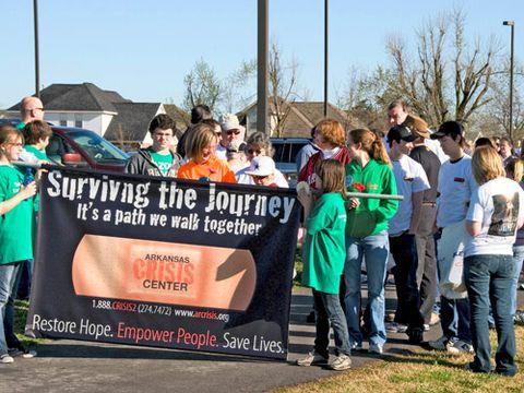 arkansas crisis center suicide prevention walk