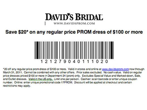 David\'s Bridal Discount - Coupon for David\'s Bridal