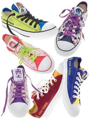 b839245f5598 Converse Star Power Sneaker Collection - Design Astrological ...