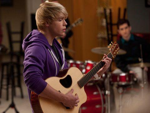 Chord Overstreet Sings Baby on Glee