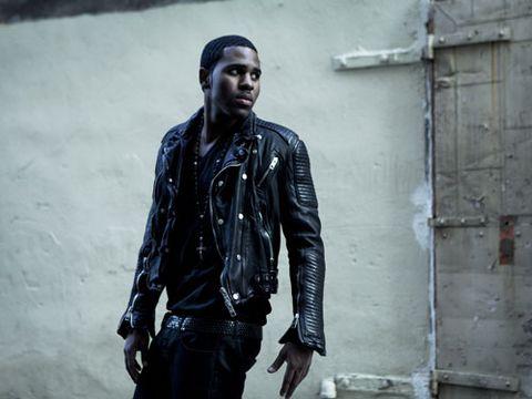 jason derulo in burberry leather jacket
