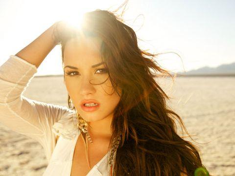 Demi Lovato in the sun