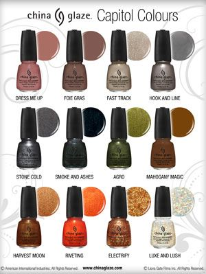 Hunger Games Nail Polish - China Glaze Nail Lacquer