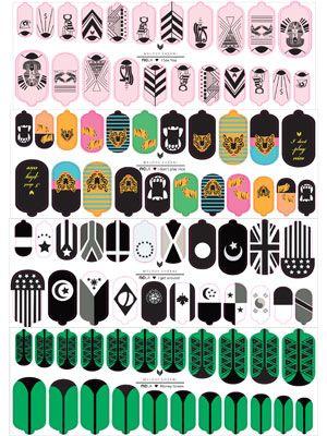 Melody Ehsani for NCLA Nail Art 2012