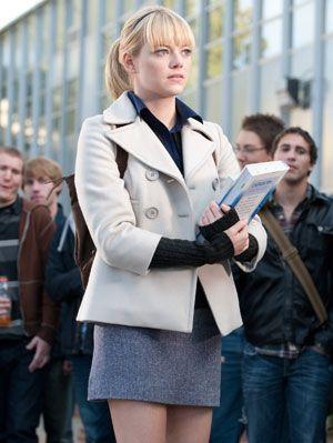 Gwen Stacy Emma Stone Spiderman 1