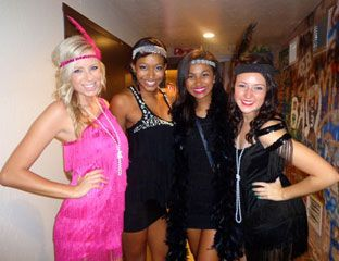 types of theme parties cool college theme parties