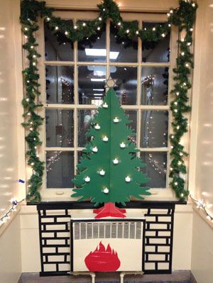 holiday hall decorations