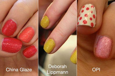 OPI China Glaze and Deborah Lipmann Texture Nail Polish Swatches ...