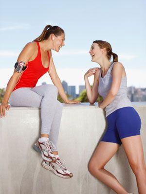 Work Out With Your Best Friend - Best Exercise Routines for Teenage