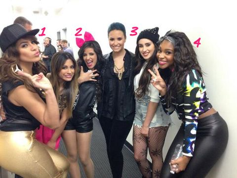 21b2a912aed4c Fifth Harmony Wearing Hats and Headbands - Fix A Bad Hair Day