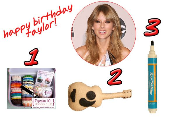Taylor Swift Birthday - Gift Ideas For Musicians