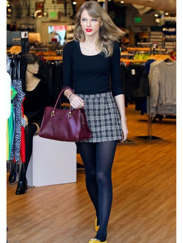 Taylor Swift Outfit Inspiration What To Wear To The Mall