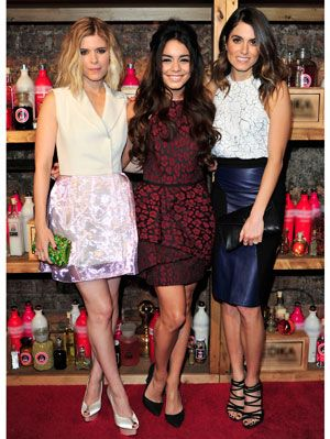 Vanessa Hudgens Nikki Reed Kate Mara Valentine S Day Dresses