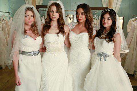 Pretty Little Liars Wedding Dresses