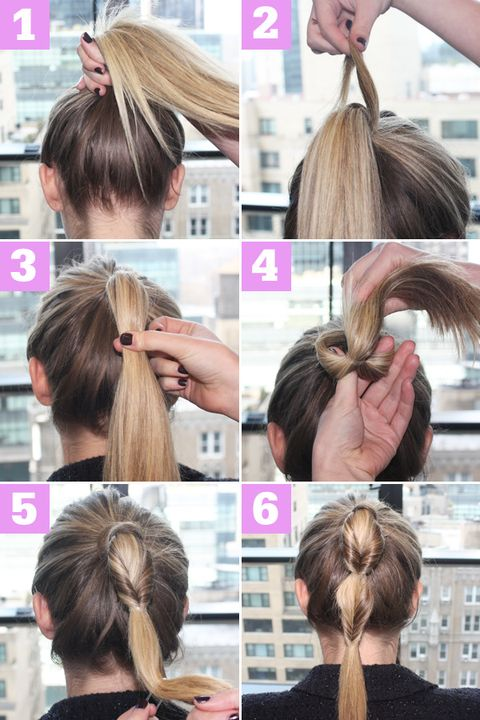 Fishtail Side Braid Hairstyle Tutorial