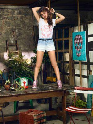 Selena Gomez Adidas Neo Summer Collection Selena Gomez Fashion Line
